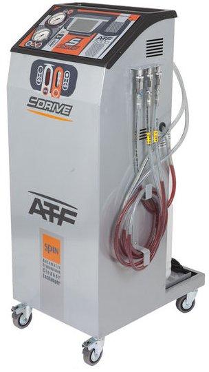 Moderní zařízení pro výměnu oleje v automatických převodovkách. S jeho pomocí jsme schopni provést proplach automatické převodovky pro odstranění veškerých nečistot a následné znovunaplnění značkovým převodovým olejem.